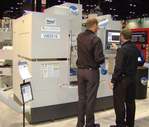 Milltronics CNC Machines at IMTS 2010