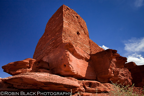 Where spirits still remain (Wukoki Pueblo, Wupatki National Monument, AZ)