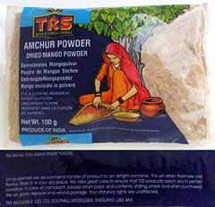 Amchor (gedroogde mango poeder)