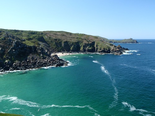 View from Zennor Cliff to the west