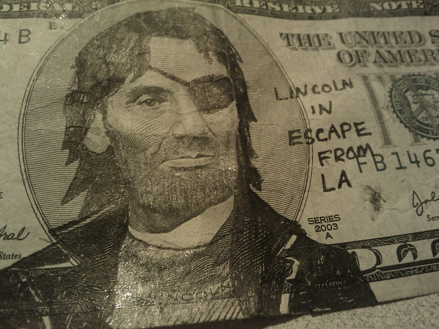 A Thing You Can Do With a Five-Dollar Bill