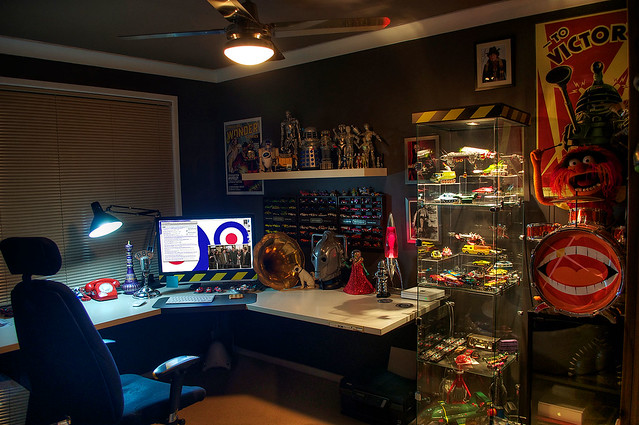 Man Cave Ideas Geek : Nerd cave ii now nerdier flickr photo sharing