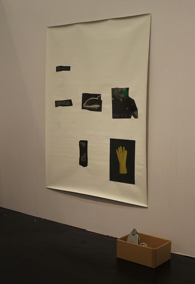 Henrik Olesen at booth Galerie Buchholz Cologne Berlin