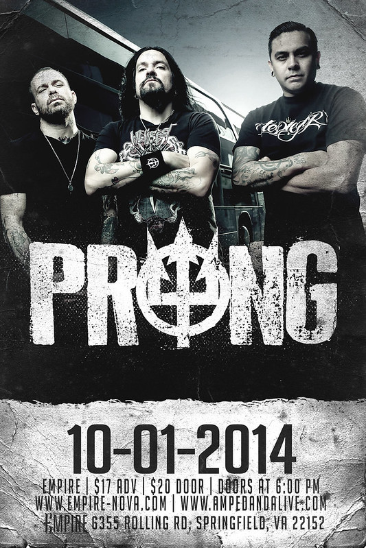 Prong at Empire
