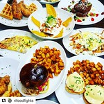#Repost @rifoodfights with @repostapp ・・・ Super strong BRUNCH game at @rogueisland @indowncitypvd in the @arcadeprovidence Sun 9am to 3pm. Farm to table menu. 40+ craft beers. Bottomless bloodies and mimosas... and DONUTS! #rifoodfights #buylocalri TAG yo