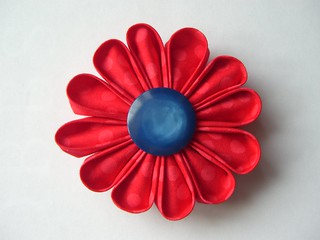 My first Kanzashi