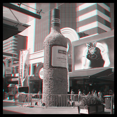 Big Bottle in Rundle Mall