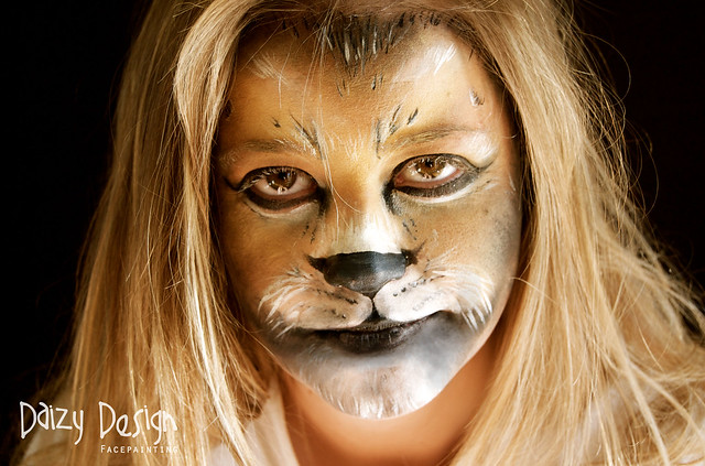 Lion Face Painting Flickr Photo Sharing