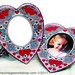 Heart Photo Frame Magnet