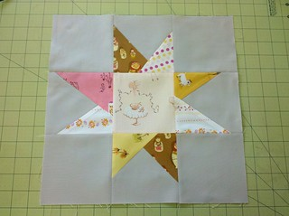 Project Special Delivery - Wonky Star Block