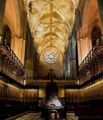 Coro de la catedral de Sevilla. 1