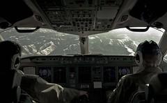 Flying over Komsomolsk