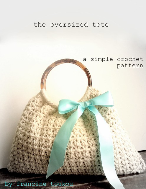 Crochet Bag patterns - crocheted Shopping Bags, Tote Bags and
