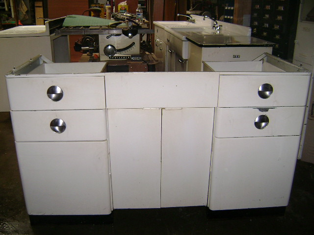 vintage kitchen sink base Vintage metal sink base. sink i ...