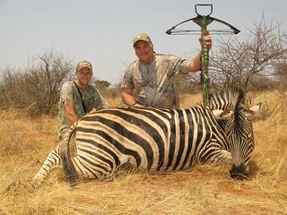 Crossbow hunting with Bushmen Safaris