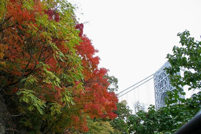 Autumn In New York at the George Washington Bridge