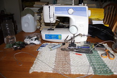 sewing(1.0), sewing machine(1.0), art(1.0), craft(1.0),