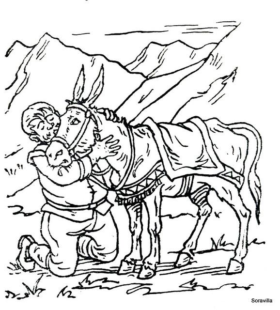 Free coloring pages of dibujos de sancho panza - photo#28