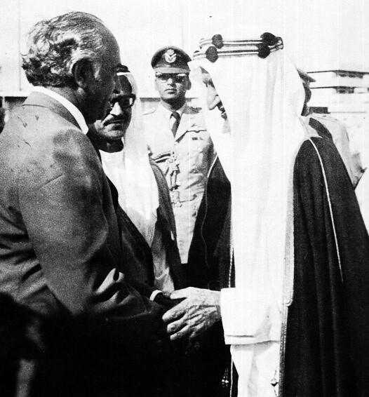 ZAB with the Saudi King Faisal