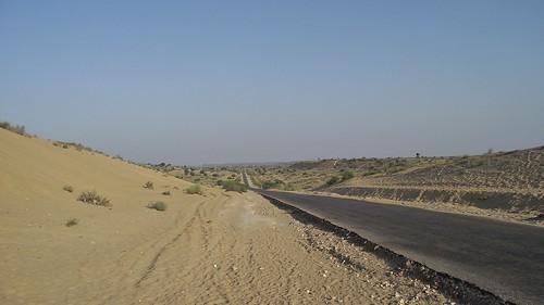 Thar Desert in Sindh, Pakistan - January 2011