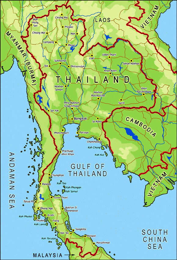 Koh Chang Thailand Map.Thailand Map Koh Chang Island South East Gulf Of Thailand Flickr