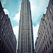 new york city - rockefeller center by pamela ross