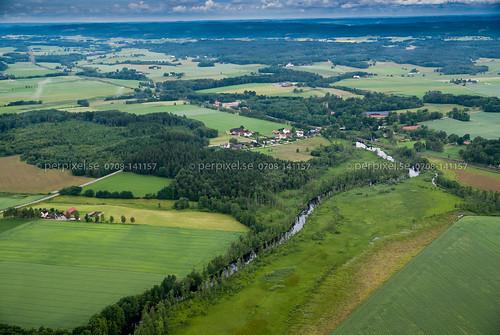 sweden swe västragötaland vårgårda flygfoto gongstorp