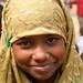 Girl Student at the School in Hatiandha, Bangladesh