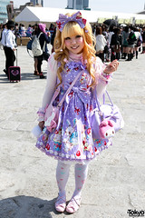 Japanese Lolita in Harajuku