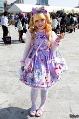 Japanese Lolita in Harajuku