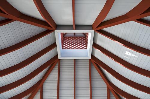 watercolor florida gazebo ceiling highway30a