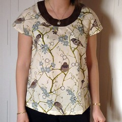 Bird top by Sylvie