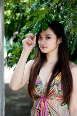 [Free Images] People, Women - Asian, People - Trees, Taiwanese People ID:201303222200