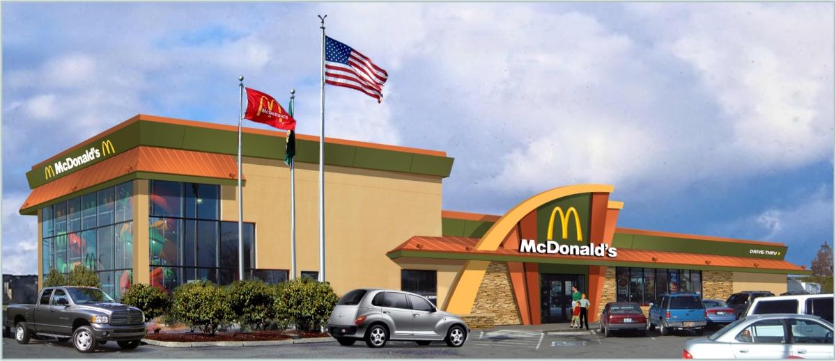 Exterior restaurant design restaurant exterior facade upgrade franchise design mcdonalds for 5 star restaurant exterior