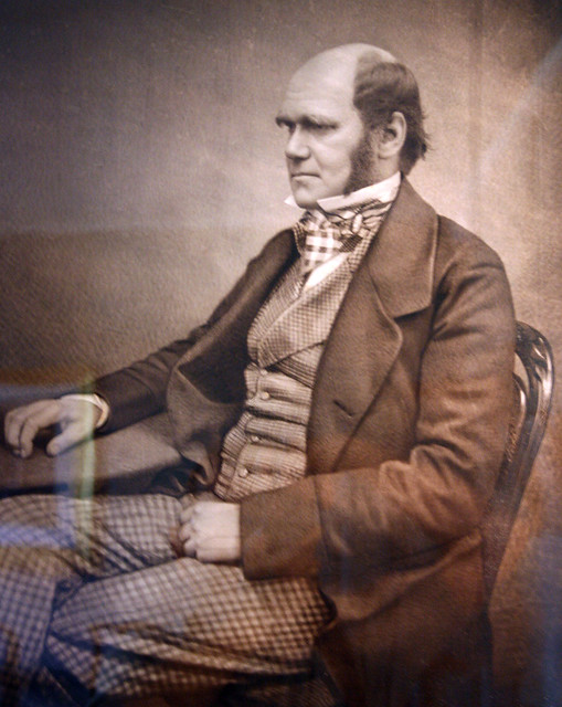 Charles Darwin from Flickr via Wylio