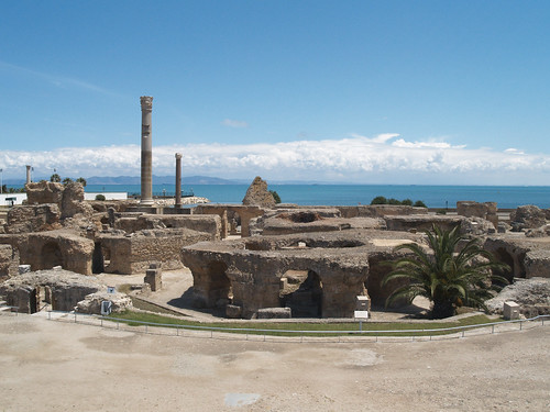 Antonine Baths at Carthage