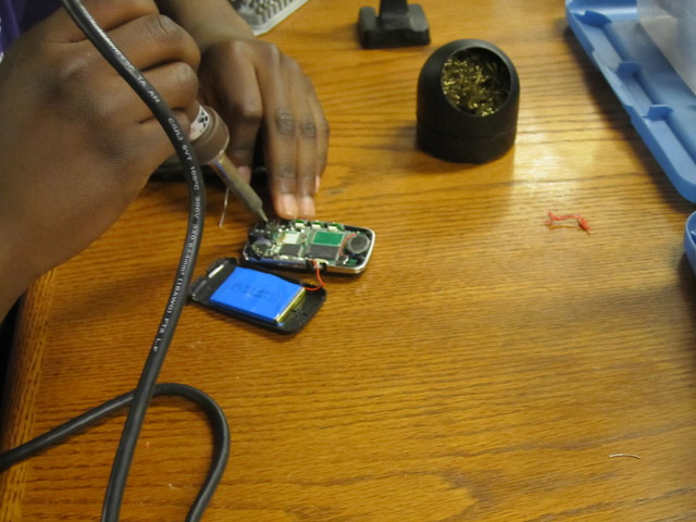 Fixing an old Mp3 player