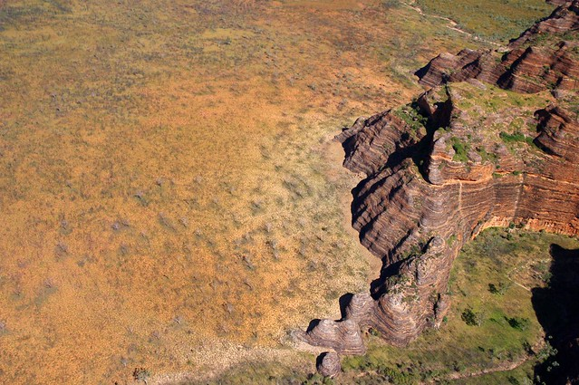 Slingair Bungle Bungles helicopter scenic flight - Kimberleys, Outback Western Australia