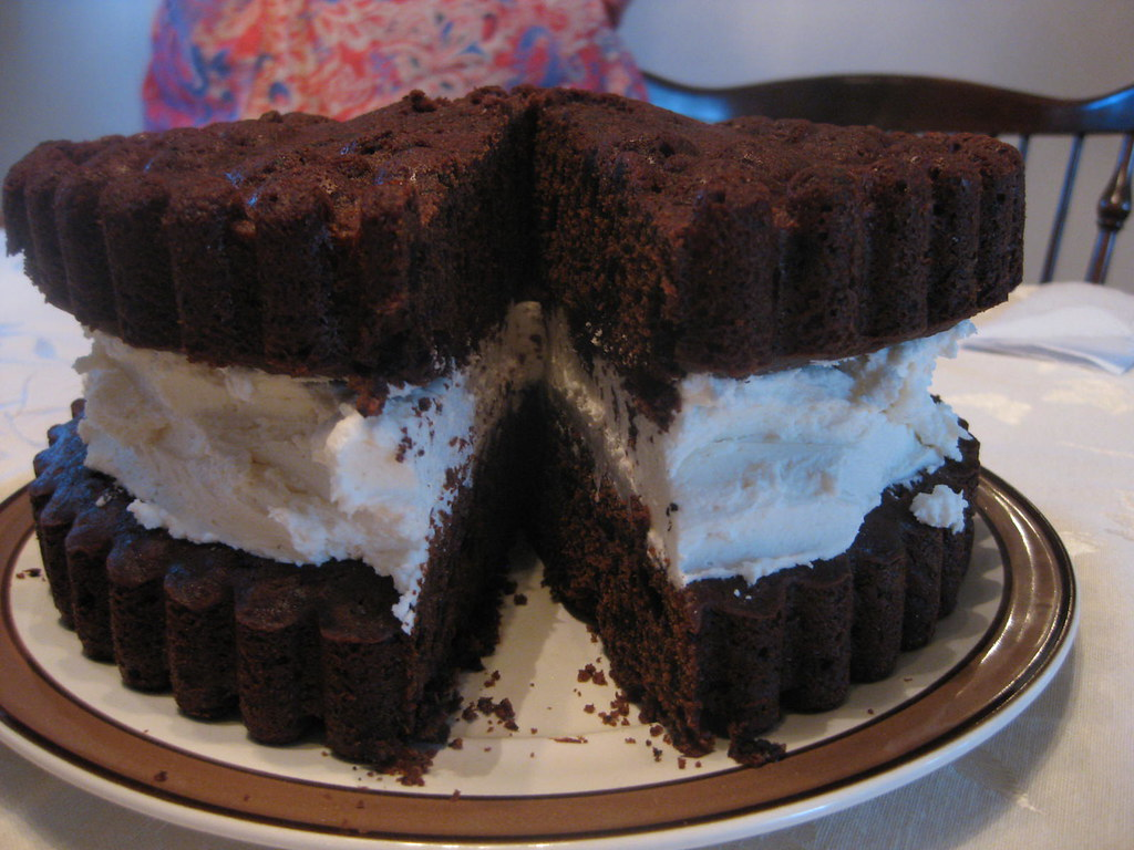Astonishing Oreo Cookie Birthday Cake Couldbekim Blogspot Com 2011 05 Flickr Birthday Cards Printable Trancafe Filternl