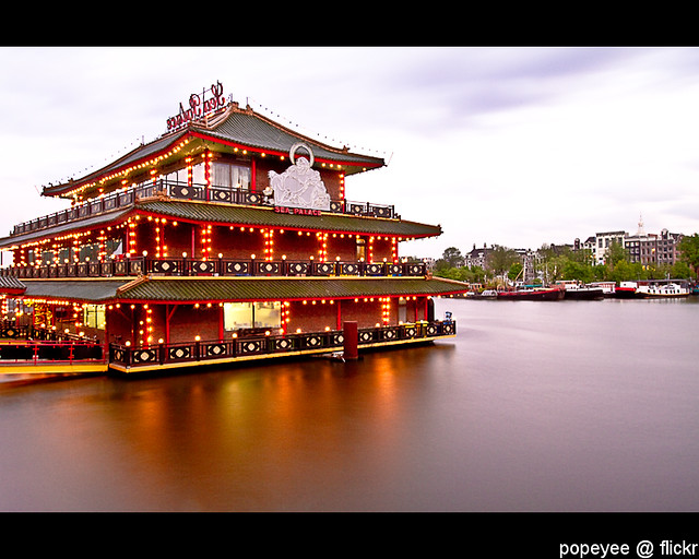 Chinese Boat Restaurant Amsterdam