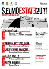 locandina S.ELMO ESTATE 2011