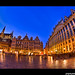 The Grand Place, Brussels by Popeyee