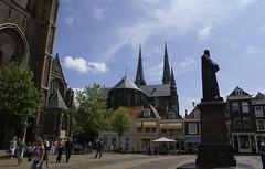 Het Marktplein in Delft