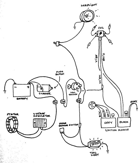 1961 Ford Thunderbird Headlight Wiring Diagram