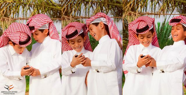 التوأم سعود وعبدالرحمن