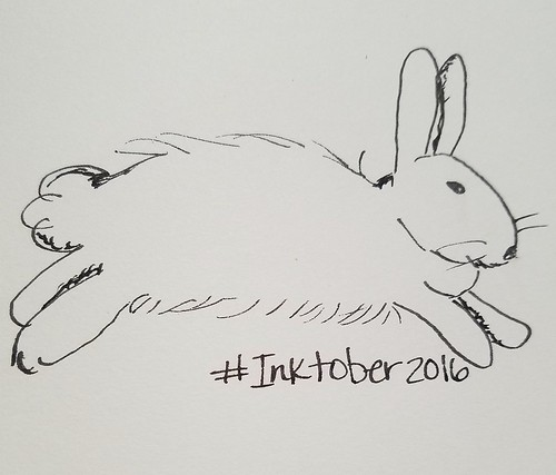 1/31 Bunny #Inktober #inktober2016