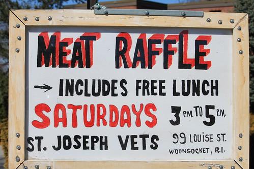 Meat Raffle by Rick Payette via I {heart} Rhody