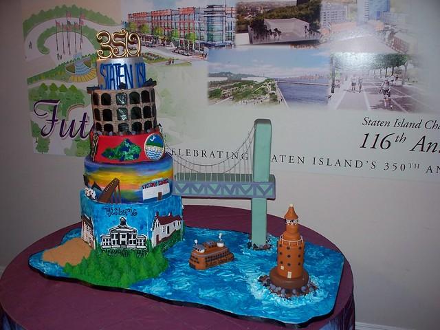 Cake Artist In Staten Island : Cake Artist creation for S.I. Chamber Of Commerce ...