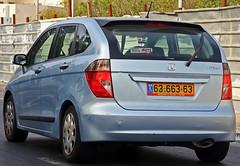 minivan(0.0), mercedes-benz(0.0), mercedes-benz b-class(0.0), automobile(1.0), automotive exterior(1.0), sport utility vehicle(1.0), compact mpv(1.0), family car(1.0), vehicle(1.0), honda fr-v(1.0), honda(1.0), compact car(1.0), bumper(1.0), land vehicle(1.0), vehicle registration plate(1.0),