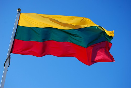 Lithuanian flag by jdmiller83